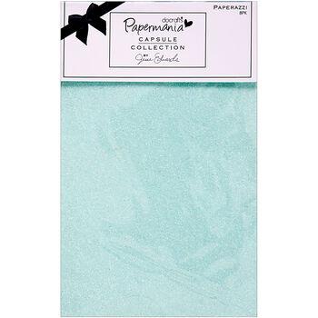 Papermania Capsule Glittered Solids Paperazzi Paper 5.5''x8.5''