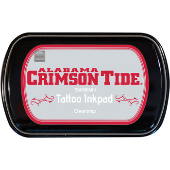 Clearsnap Colobox Licensed Temporary Tattoo Inkpad University Of Alabama