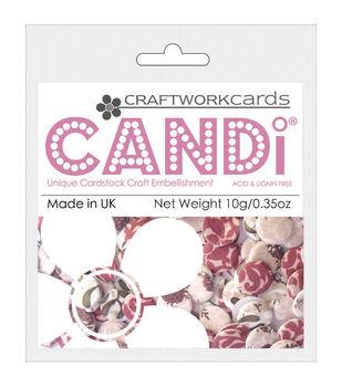 Craftwork Cards Candi Dot Mistletoe Printed Embellishments