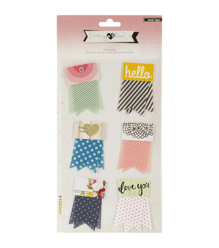 Crate Paper Maggie Holmes Open Book Ribbon Tags