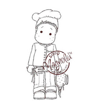 """A Little Yummy For Your Tummy Cling Stamp 6.5""""X3.5"""" Package-Pasta Edwin"""