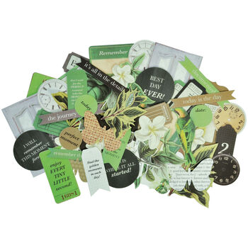 Kaisercraft Collectables Cardstock Die-Cuts Limelight