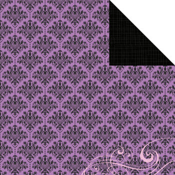 Kaisercraft Violet Crush Dainty Double-Sided Cardstock