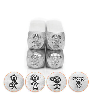 Design Stamp Pack 4pc-Stick Family