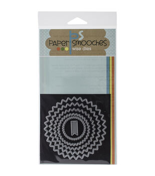 Paper Smooches Die-Pinked Circles