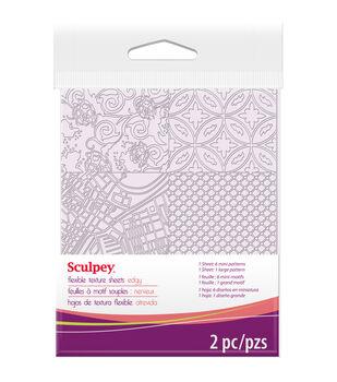 Sculpey Texture Sheet-Edgy