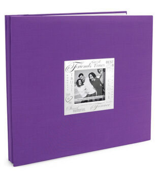 12''x12'' Expressions Postbound Album-Friends