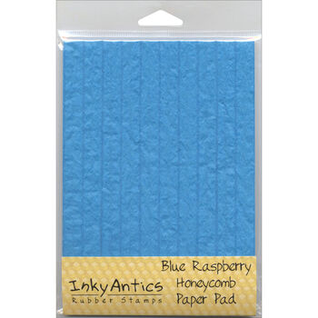 Stampers Anonymous Honeycomb Blue Raspberry Paper 5''x7''
