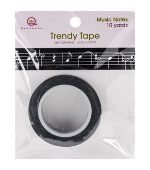 Queen & Co Music Notes Trendy Tape