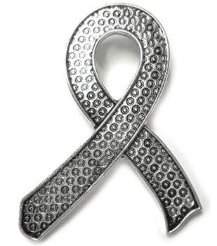 Create Your Style Swarovski Metal Pendant 1/Pkg-Ribbon Silver