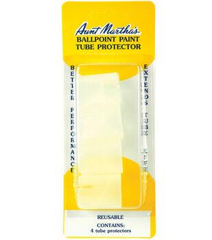Aunt Martha's Ballpoint Paint Tube Protector-4/Pkg
