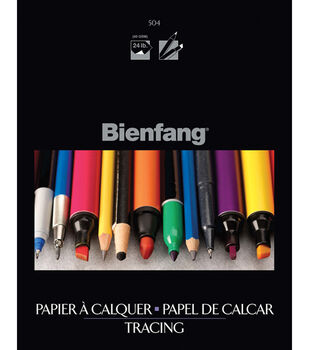 """Elmer's Products Tracing Paper Pad 9""""X12""""-15 Sheets"""