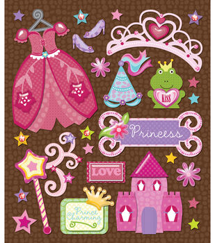 Sticker Medley-Princess