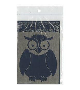 Stampendous Dreamweaver Metal Owl Stencil