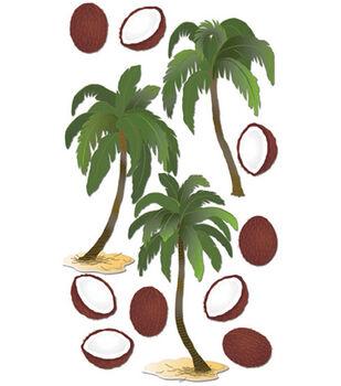 Jolee's Boutique Le Grande Dimensional Sticker-Coconut Palms