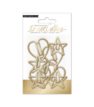 Teresa Collins Photo Gallery Shaped Paper Clips