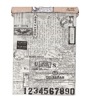 Tim Holtz - Advantus Idea-Ology Postale Tissue Wrap