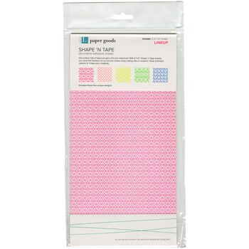 "Shape 'n Tape Washi Sheets 6""X12"" 5/Pkg"