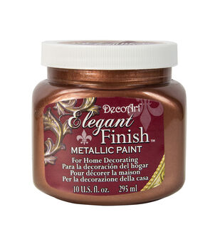 Elegant Finish™ Metallic Paint 10oz, Worn Penny