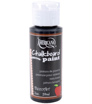 Deco Art Chalkboard Paint 2oz-Black Slate