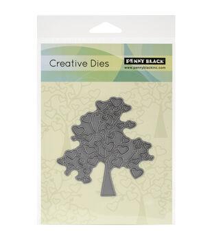 Penny Black Tree Of Love Creative Dies