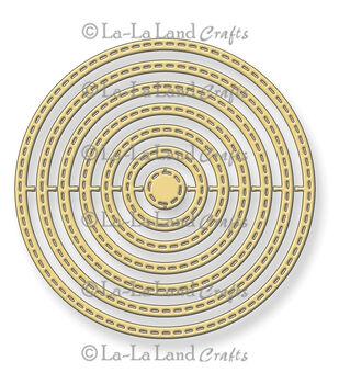 La-La Land Crafts Stitched Nested Circles Dies