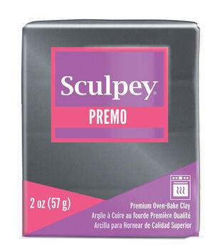 Premo Sculpey Polymer Clay 2oz-Graphite Pearl