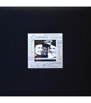 8''x8''Expressions Postbound Album-Graduation