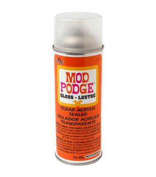 Mod Podge Clear Acrylic Aerosol Sealer 12oz-Gloss