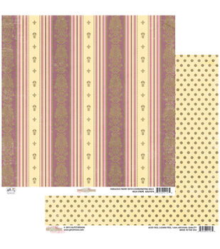 """Stripe - All Dolled Up Double-sided Heavy Weight Paper 12""""x12"""""""