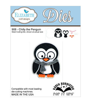 Elizabeth Craft Metal Die-Chilly The Penguin