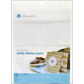Silhouette Of America Printable Sticker Paper 8.5''x11''