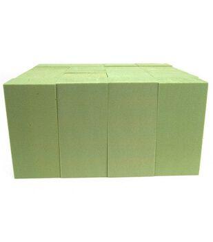"Dry Foam Block 2.875""X3.875""X7.875"" 1/Pkg-Brown"