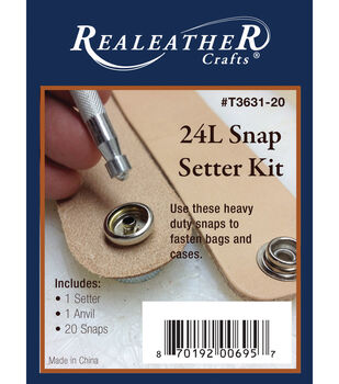 24L Snap Setter Kit-Nickel