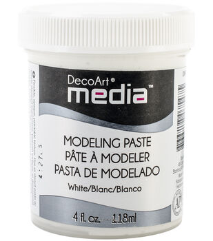 Media Modeling Paste 4oz-White