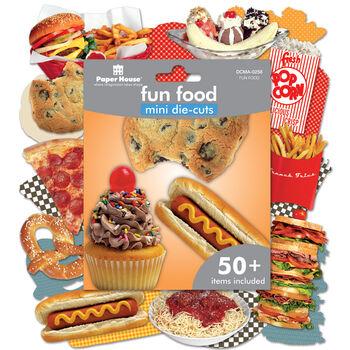 Paper House Mini Die Cuts Fun Food
