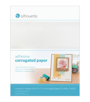 Silhouette Of America Adhesive Back Corrugated Paper 8.5''x11''