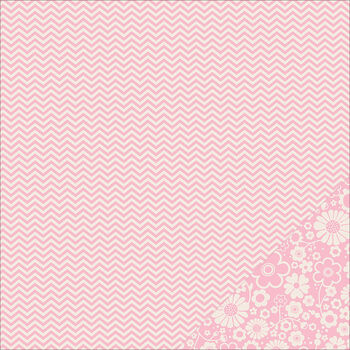 Pebbles Basics Chevron Double-Sided Cardstock