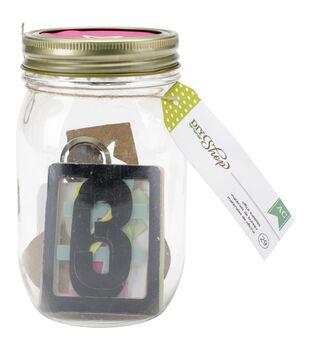 American Crafts DIY Shop Mason Jars With Office Supplies