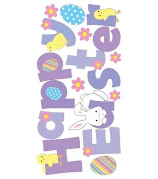 Dimensional Stickers-Happy Easter