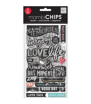 Chipboard Value Pack-Chalk- Sweet Memories