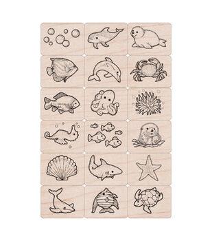 Hero Arts Ink 'n' Stamp Sea Life