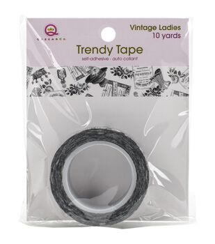 Queen & Co Vintage Ladies Trendy Tape