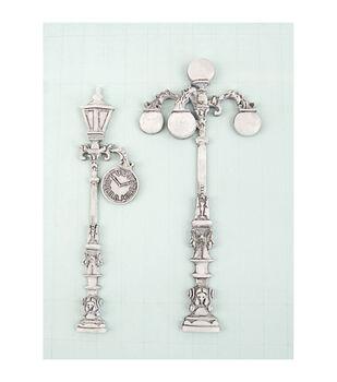 Prima Marketing Victorian Lamp Shabby Chic Treasures