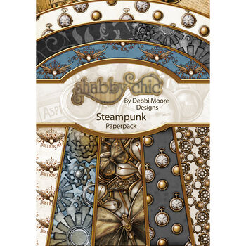 Debbi Moore Design Shabby Chic A4 Paper Pack Steampunk