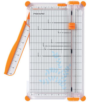 Fiskars 12'' Premium Portable Paper Trimmer