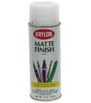 Krylon Matte Finish Spray-11 Ounces
