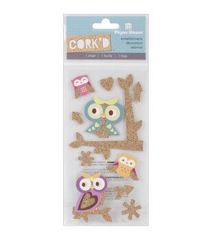 Paper House Cork'd Owls Stickers