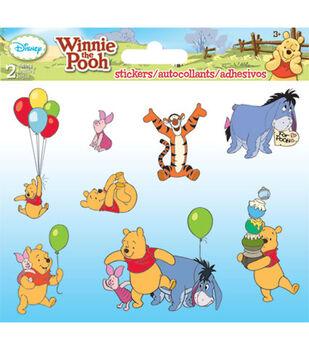 Pooh Foldover Sticker