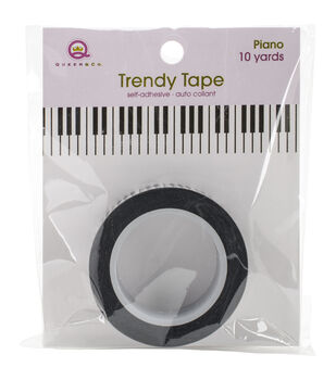 Queen & Co Piano Keyboard Trendy Tape
